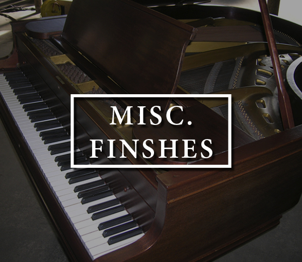 Misc. Finishes